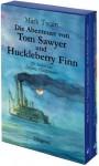 Die Abenteuer von Tom Sawyer & Huckleberry Finn: 2 Bde - Mark Twain