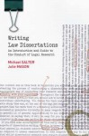 Writing Law Dissertations: An Introduction and Guide to the Conduct of Legal Research - Michael Salter, Julie Mason