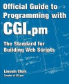 Official Guide to Programming with CGI.PM - Lincoln Stein