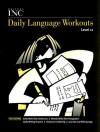 Writers Inc Daily Language Workouts Level 11 - Patrick Sebranek, Dave Kemper