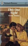 This One Night - Yvonne Whittal