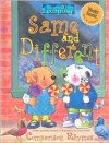 Same and Different Comparison Rhymes - Mary Packard, Susan Banta