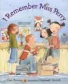 I Remember Miss Perry - Pat Brisson, Stéphane Jorisch