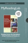 New Myreadinglab with Pearson Etext -- Standalone Access Card -- For Reading Across the Disciplines - Kathleen T. McWhorter