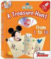 A Treasure Hunt from 1 to 10 [With CD (Audio)] - Studio Mouse LLC, Studio Mouse LLC