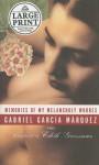 Memories of My Melancholy Whores (Random House Large Print) - Gabriel García Márquez