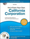 How to Form Your Own California Corporation [With CDROM] - Anthony Mancuso