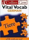 German Vital Vocab - Veronika Schnorr, Horst Kopleck, Barbara I. Christie