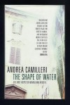 The shape of water . - Andrea Camilleri
