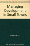 Managing Development in Small Towns - David J. Brower