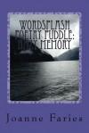 wordsplash poetry puddle hazy memory - Joanne Faries