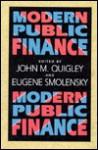 Modern Public Finance - John M. Quigley