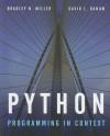 Python Programming In Context - Bradley N. Miller, David L. Ranum