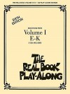 The Real Book Play-Along, Volume 1 E-K [With 3] - Hal Leonard Publishing Company