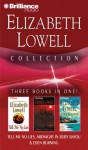 Elizabeth Lowell: Tell Me No Lies: Midnight in Ruby Bayou: Eden Burning - Elizabeth Lowell, Laural Merlington, James Daniels