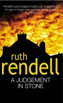 A Judgement In Stone - Ruth Rendell