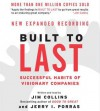 Built to Last CD: Successful Habits of Visionary Companies - Jim Collins, Jerry I. Porras
