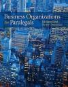 Business Organizations for Paralegals - Kathleen Mercer Reed, Henry R. Cheeseman, John J. Schlageter