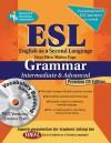 ESL Intermediate/Advanced Grammar w/Vocab Builder w/CD-ROM - Mary Ellen Munoz Page, Mary Ellen Munoz-Page, Dana Passananti