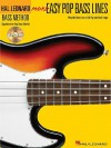More Easy Pop Bass Lines: Play the Bass Lines of 20 Pop and Rock Songs [With CD (Audio)] - Hal Leonard Publishing Company
