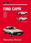 Ford Capri 1.3, 1.6, 2.0, 2.3, & 3.0 WSM - Brooklands Books Ltd