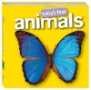 Baby's First Animals (Board Book) - Hinkler Books