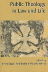 Public Theology in Law and Life - Paul Babie, Brian Edgar, David M. Wilson