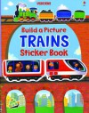 Build a Picture Sticker Trains - Felicity Brooks