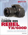 David Busch's Canon Eos Rebel T3I/600D Guide to Digital SLR Photography (David Busch's Digital Photography Guides) - David D. Busch