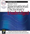 Webster's Third New International Unabridged Dictionary (NOT A BOOK CDROM) - Merriam-Webster