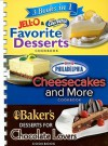 3 Books in 1 Jell-O & CoolWhip Favorite Desserts/Philadelphia Cheesecakes and More/Baker's Desserts for Chocolate Lovers - Louis Weber