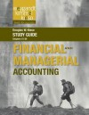 Study Guide to Accompany Weygandt Financial & Managerial Accounting - Jerry J. Weygandt