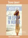 An Expert in Murder (Audio) - Nicola Upson, Davina Porter
