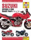 Suzuki GSF600 and 1200 Bandit Fours Service and Repair Manual - John Haynes, John Haynes