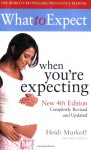 What to Expect When You're Expecting - Heidi Murkoff, Sharon Mazel
