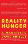 Reality Hunger (Vintage) - David Shields
