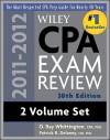 Wiley CPA Exam Review 2 Volume Set - O. Ray Whittington