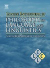 Concise Encyclopedia of Philosophy of Language and Linguistics - Keith Brown, Robert J. Stainton
