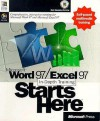 Microsoft Word 97/Excel 97 In-Depth Training Starts Here - Microsoft Press, Microsoft Press, Microsoft Corporation Staff