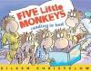 Five Little Monkeys Reading in Bed - Eileen Christelow