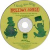 I Sing, You Sing Holiday Songs (CD) - Sally K. Albrecht, Jay Althouse