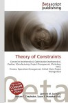 Theory Of Constraints - VDM Publishing, VDM Publishing, Susan F. Marseken