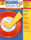 Reading Assessment Tasks: Grade Pre K: Quick Check Activities - Becki Dios, Becky Dios