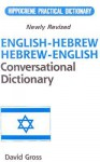 Hippocrene Practical English-Hebrew, Hebrew-English Conversational Dictionary: Romanized - David C. Gross