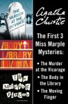 Three Miss Marple Mysteries (The Murder at the Vicarage / The Body in the Library / The Moving Finger) - Agatha Christie