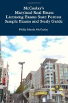 Mccaulay'S Maryland Real Estate Licensing Exams State Portion Sample Exams And Study Guide - Philip Martin McCaulay