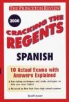 Cracking the Regents: Spanish, 1999-2000 Edition - David Stewart