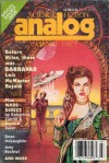 Analog Science Fiction and Fact, July 1991 - Stanley Schmidt, David A. Baker, Amy Bechtel, Lois McMaster Bujold, Jayge Carr, Rob Chilson, Brian C. Coad, Tom Easton, Daniel Hatch, Jay Kay Klein, Dean McLaughlin, Don Sakers, G. Harry Stine, William F. Wu, Robert Zubrin