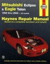 Mitsubishi Eclipse & Eagle Talon 1995 thru 2005 - John H Haynes