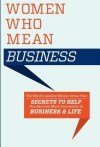 Women Who Mean Business - Kimberly Martinez, Lee Milteer
